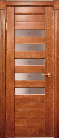 Дверь из массива дуба или дверь шпонированная дубом